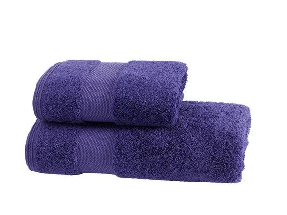 Полотенце для ванной Soft Cotton DELUXE махра хлопок/модал фиолетовый 50*100, фото, фотография