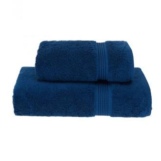 Набор полотенец для ванной 50*100, 75*150 Soft Cotton LANE хлопковая махра (голубой)