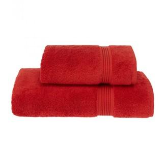 Набор полотенец для ванной 50*100, 75*150 Soft Cotton LANE хлопковая махра (красный)