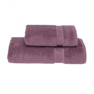 Набор полотенец для ванной 50*100, 75*150 Soft Cotton LANE хлопковая махра (лиловый)