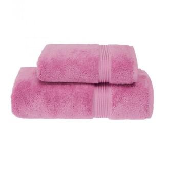 Набор полотенец для ванной 50*100, 75*150 Soft Cotton LANE хлопковая махра (розовый)