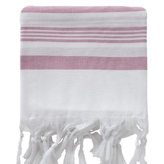 Полотенце пештемаль для бани, сауны, пляжа Karna PESHTEMAL хлопок (V24)