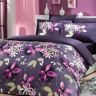 Постельное белье Hobby Home Collection CHICHEK хлопковый сатин (фиолетовый)