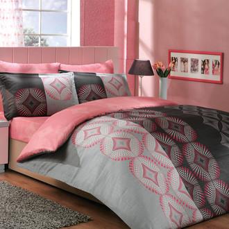 Постельное белье Hobby Home Collection GRIS хлопковый сатин (серый)
