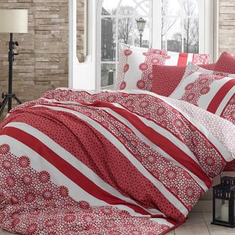 Постельное белье Hobby Home Collection LISA хлопковый сатин красный