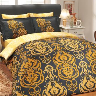 Постельное белье Hobby Hobby Collection MONART хлопковый сатин золотой