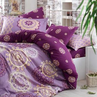 Постельное белье Hobby Hobby Collection OTTOMAN хлопковый сатин фиолетовый