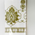 Набор кухонных полотенец 45х65 2 шт. Ecocotton MEYRA органический хлопок белый+бежевый, фото, фотография