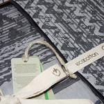 Постельное белье Ecocotton IZGI органический хлопковый сатин-жаккард делюкс антрацит евро, фото, фотография