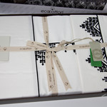Постельное белье Ecocotton SAHRA органический хлопковый сатин делюкс кремовый евро, фото, фотография