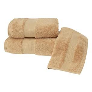 Полотенце для ванной Soft Cotton DELUXE махра хлопок/модал горчичный 50х100