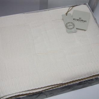 Плед-покрывало Ecocotton DORA органический хлопок кремовый