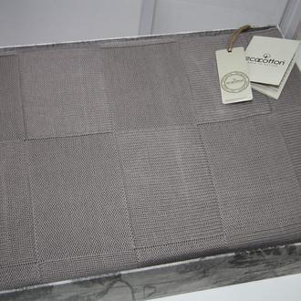 Плед-покрывало Ecocotton DORA органический хлопок серый