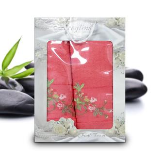 Подарочный набор полотенец для ванной Ceylins PEARL TOWEL хлопковая махра (V3)