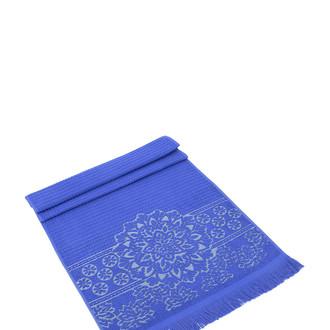 Полотенце для ванной Karna DURU хлопковая махра (тёмно-синий)