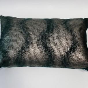 Декоративная подушка Tivolyo Home ABBEY изумрудный 35х55