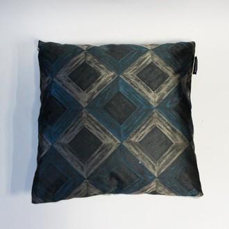 Декоративная подушка Tivolyo Home CALVINO (изумрудный)