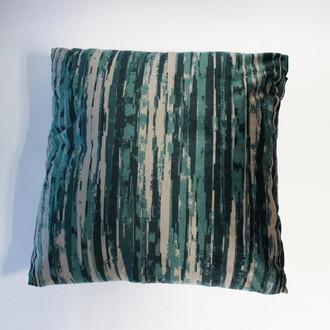 Декоративная подушка Tivolyo Home FABIANO (изумрудный)