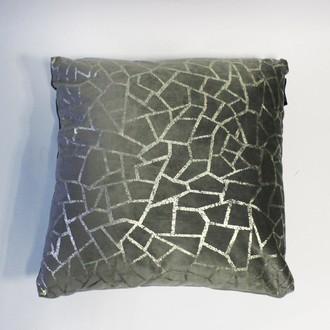 Декоративная подушка Tivolyo Home MATHEO (серый)