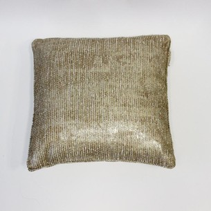 Декоративная подушка Tivolyo Home ARIA золотой 45х45