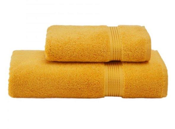 Полотенце для ванной Soft Cotton LANE хлопковая махра жёлтый 50*100, фото, фотография