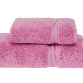 Полотенце для ванной Soft Cotton LANE хлопковая махра розовый 50*100
