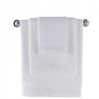 Полотенце для ванной Soft Cotton MASAL бамбуково-хлопковая махра (белый)