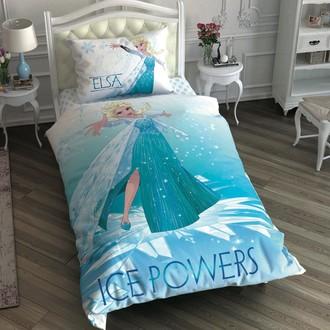 Комплект детского постельного белья TAC FROZEN ICE POWERS хлопковый ранфорс