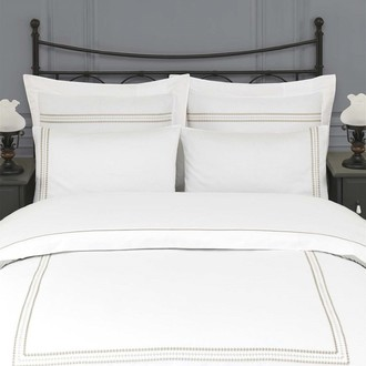 Комплект постельного белья Issimo Home RITA хлопковый сатин делюкс ментол