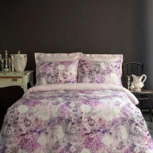 Постельное белье Issimo Home SATIN GRACE хлопковый сатин делюкс розовый евро
