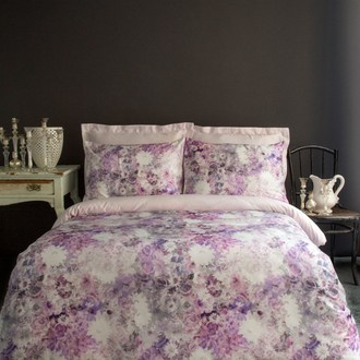 Постельное белье Issimo Home SATIN GRACE хлопковый сатин делюкс розовый