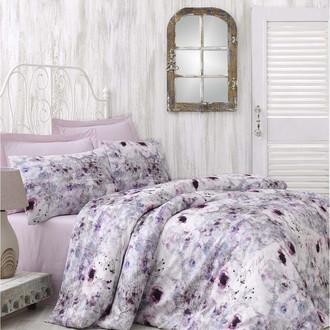 Комплект постельного белья Issimo Home SATIN NASRIN хлопковый сатин делюкс