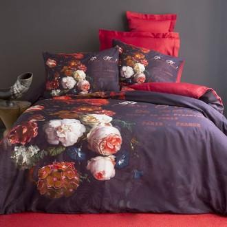 Комплект постельного белья Issimo Home SATIN ROSE хлопковый сатин делюкс