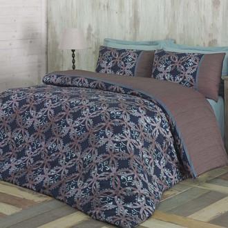 Комплект постельного белья Issimo Home SATIN SAVOY хлопковый сатин делюкс