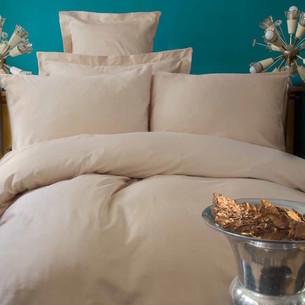 Постельное белье Issimo Home SIMPLY SATIN хлопковый сатин делюкс бежевый семейный