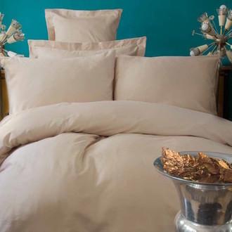 Комплект постельного белья Issimo Home SIMPLY SATIN хлопковый сатин делюкс (бежевый)