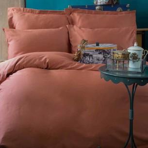 Постельное белье Issimo Home SIMPLY SATIN хлопковый сатин делюкс медный семейный