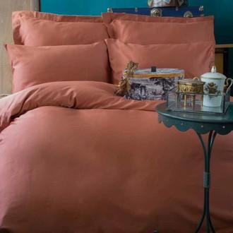 Постельное белье Issimo Home SIMPLY SATIN хлопковый сатин делюкс медный