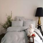 Постельное белье Issimo Home SIMPLY SATIN хлопковый сатин делюкс серый семейный, фото, фотография