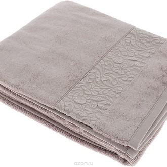 Полотенце для ванной Issimo Home VALENCIA бамбуково-хлопковая махра (бежевый)