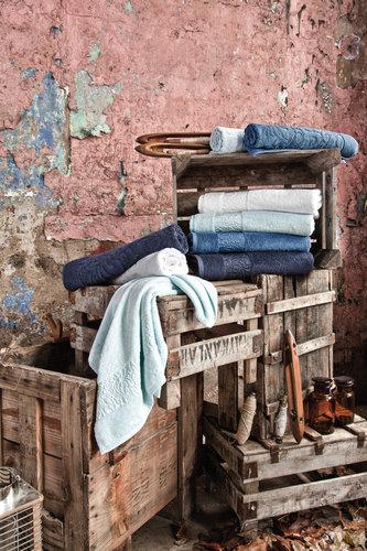 Полотенце для ванной Issimo Home VALENCIA бамбуково-хлопковая махра белый 30х50, фото, фотография