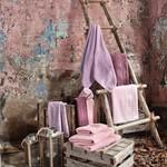 Полотенце для ванной Issimo Home VALENCIA бамбуково-хлопковая махра аметист 70х140, фото, фотография