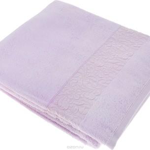 Полотенце для ванной Issimo Home VALENCIA бамбуково-хлопковая махра лиловый 70х140