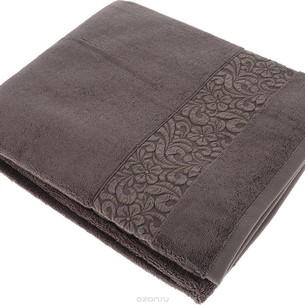 Полотенце для ванной Issimo Home VALENCIA бамбуково-хлопковая махра норка 50х90