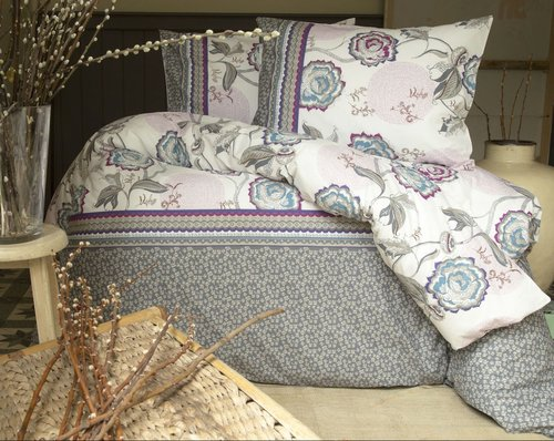 Постельное белье Issimo Home RANFORCE FARIN хлопковый ранфорс 1,5 спальный, фото, фотография