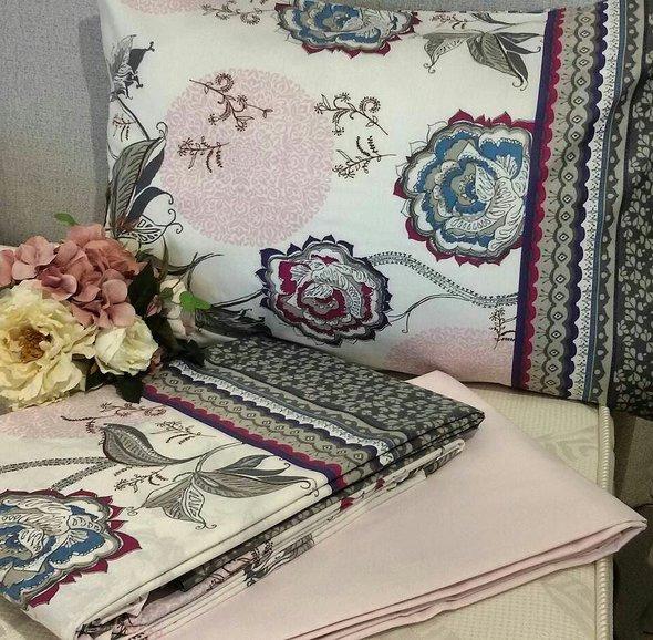 Комплект постельного белья Issimo Home RANFORCE FARIN хлопковый ранфорс 1,5 спальный, фото, фотография