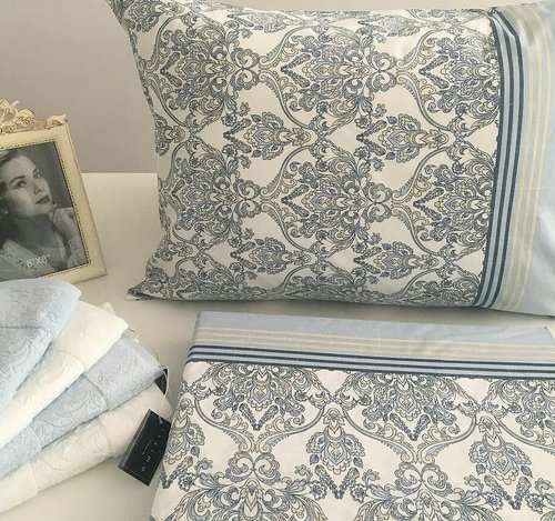 Постельное белье Issimo Home RANFORCE HELEN хлопковый ранфорс евро, фото, фотография