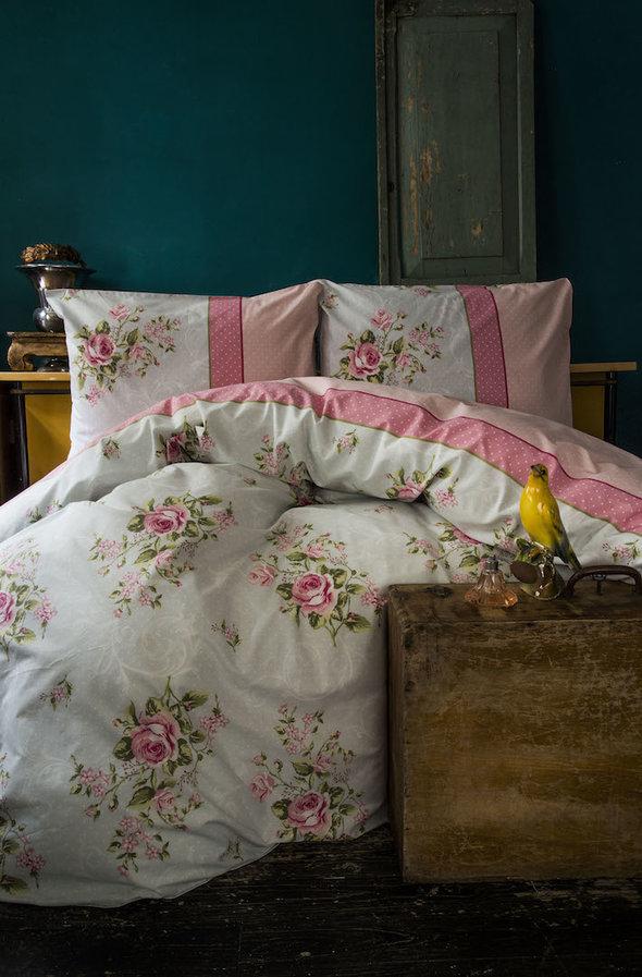 Комплект постельного белья Issimo Home RANFORCE LOLA хлопковый ранфорс евро, фото, фотография