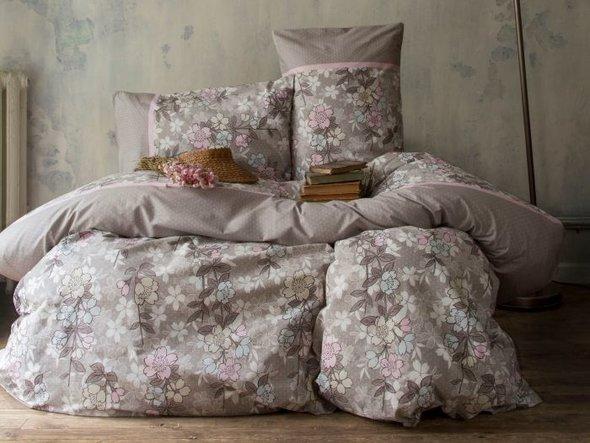 Комплект постельного белья Issimo Home RANFORCE MISS PERA хлопковый ранфорс евро, фото, фотография