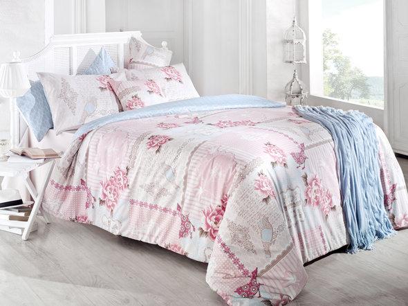 Комплект постельного белья Issimo Home RANFORCE PASTORAL хлопковый ранфорс евро, фото, фотография